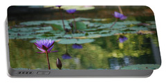 Monet's Waterlily Pond Number Two Portable Battery Charger
