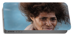 Monica From Papua New Guinea Portable Battery Charger