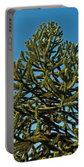 Monkey Puzzle Tree E Portable Battery Charger by Tikvah's Hope