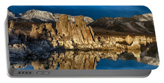 Mono Lake In March Portable Battery Charger