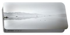 Mono Lake Serenity Portable Battery Charger by Shaun Higson