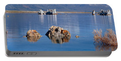 Mono Lake, Tufa Rock, Ca Portable Battery Charger