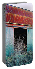 Portable Battery Charger featuring the photograph Monroe Co. Michigan Barn by Daniel Thompson