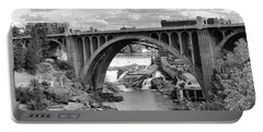 Monroe St Bridge Of Spokane Portable Battery Charger