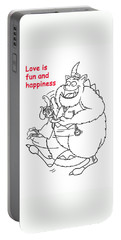 Monster Valentine Portable Battery Charger