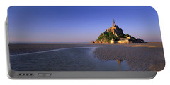 Mont Saint Michel, Normandy, France Portable Battery Charger