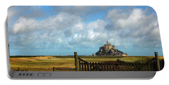 Mont Saint-michel Portable Battery Charger by RicardMN Photography