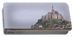 Mont St Michel Normandy France Portable Battery Charger