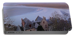 Mont St Michel Tower View Portable Battery Charger