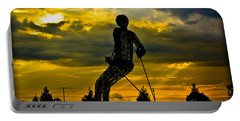 Portable Battery Charger featuring the photograph Montage Mountain by Gary Keesler