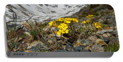 Blue Lakes Colorado Wildflowers Portable Battery Charger