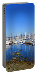 Portable Battery Charger featuring the photograph Monterey-7 by Dean Ferreira