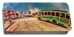 Monterey And Cable Car Bus Portable Battery Charger