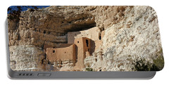 Portable Battery Charger featuring the photograph Montezuma Castle by Penny Meyers