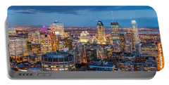 Montreal Panorama Portable Battery Charger