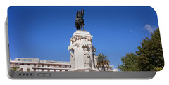 Monument To King Saint Ferdinand In Seville Portable Battery Charger