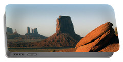 Monument Valley Afternoon Portable Battery Charger