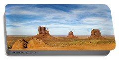 Monument Valley Panorama - Arizona Portable Battery Charger
