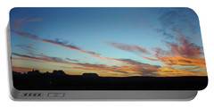 Monument Valley Sunset 2 Portable Battery Charger