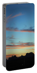 Monument Valley Sunset 3 Portable Battery Charger