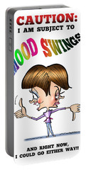Mood Swings Portable Battery Charger