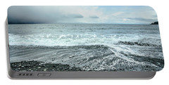 Moody Waves French Beach Portable Battery Charger