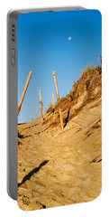 Moon And Dunes Portable Battery Charger