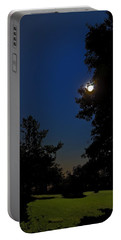 Portable Battery Charger featuring the photograph Moon And Pegasus by Greg Reed