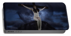 Moon Crucifix II Portable Battery Charger