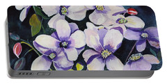 Moon Flowers Portable Battery Charger
