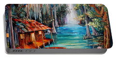 Moon On The Bayou Portable Battery Charger