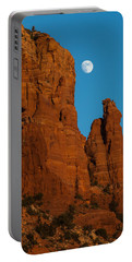 Moon Over Chicken Point Portable Battery Charger