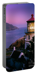 Moon Over Heceta Head Portable Battery Charger