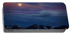Moon Over Rockies Portable Battery Charger