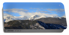 Moon Over The Rockies - Panorama Portable Battery Charger