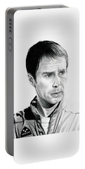 Moon  Sam Rockwell Portable Battery Charger