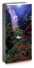 Moonlight Falls Portable Battery Charger by Marie Hicks