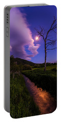 Moonlight Meadow Portable Battery Charger
