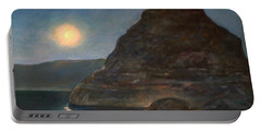 Moonlight On Pyramid Lake Portable Battery Charger