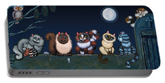 Moonlight On The Wall Portable Battery Charger