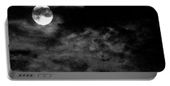 Moonlit Clouds Portable Battery Charger