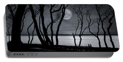 Moonlit Stroll Portable Battery Charger