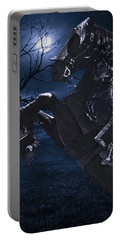 Moonlit Warrior Portable Battery Charger