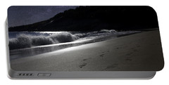 Portable Battery Charger featuring the photograph Moonshine Beach by Brent L Ander