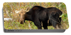 Portable Battery Charger featuring the photograph Moose by James Peterson