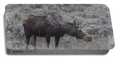 A Grazing Moose Portable Battery Charger