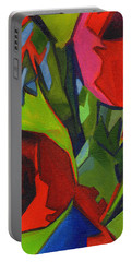 More Red Tulips  Portable Battery Charger