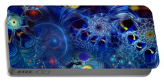 Portable Battery Charger featuring the digital art More Things In Heaven And Earth by Casey Kotas