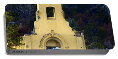 Portable Battery Charger featuring the photograph Mountain Mission Church by Barbara Chichester