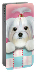 Morkie Shelly Portable Battery Charger